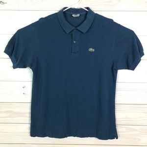 Lacoste Men Polo Golf Shirt Size M